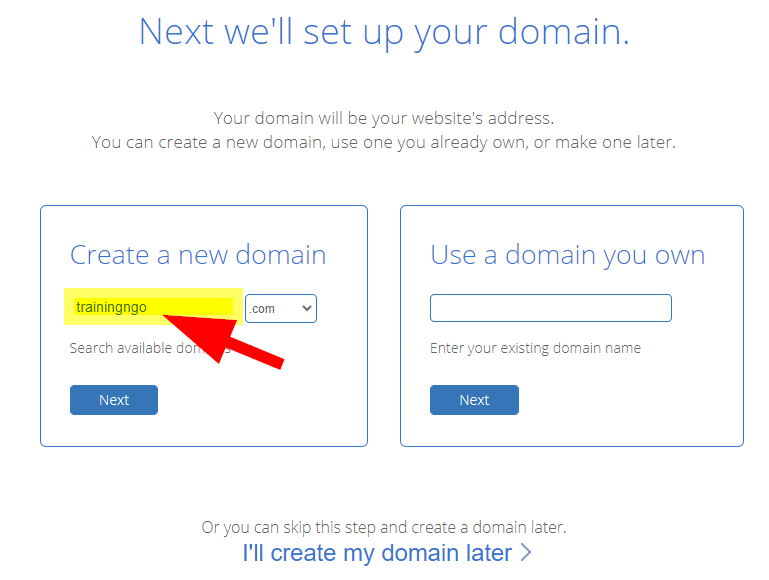 bluehost-domain-availability-check